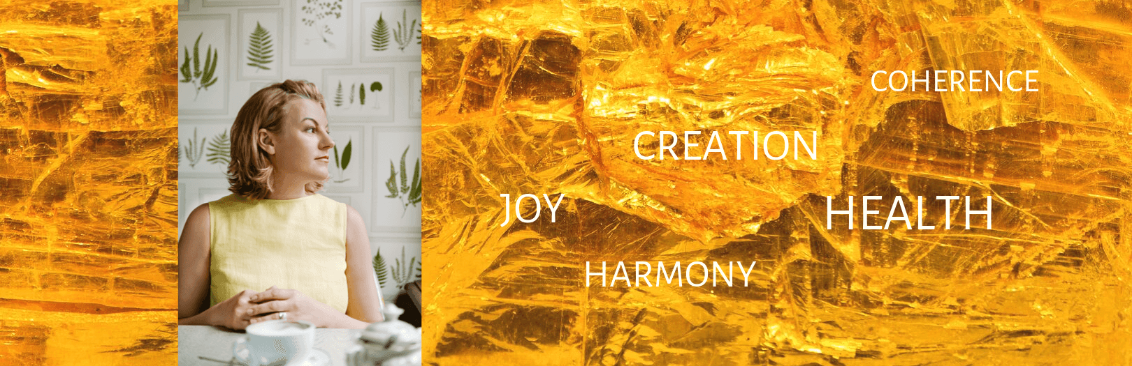 amber light healing header